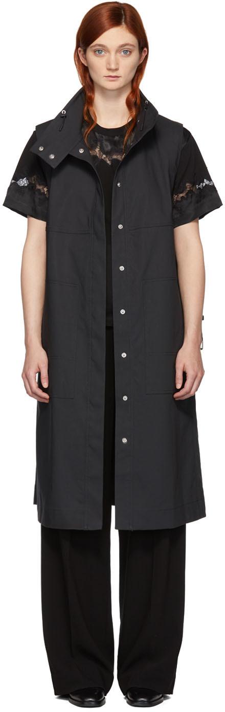 31 Phillip Lim Grey Trench Vest 192283F068001