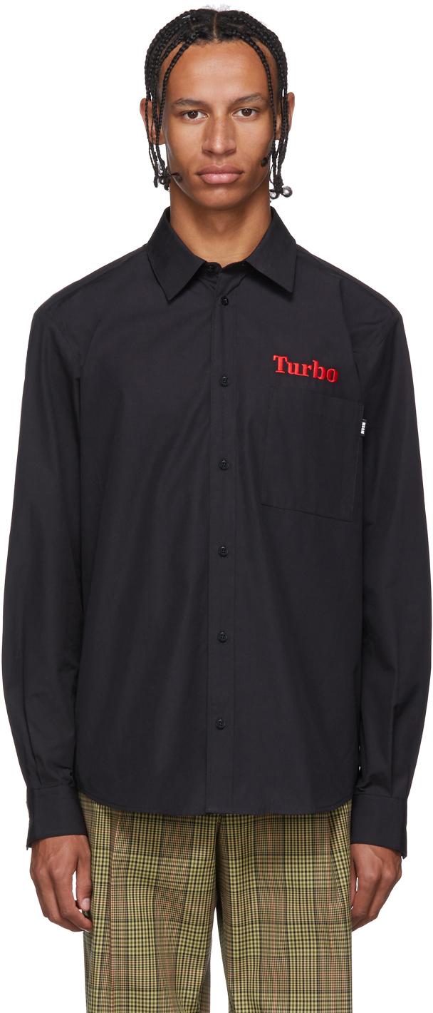Black 'Turbo' Shirt