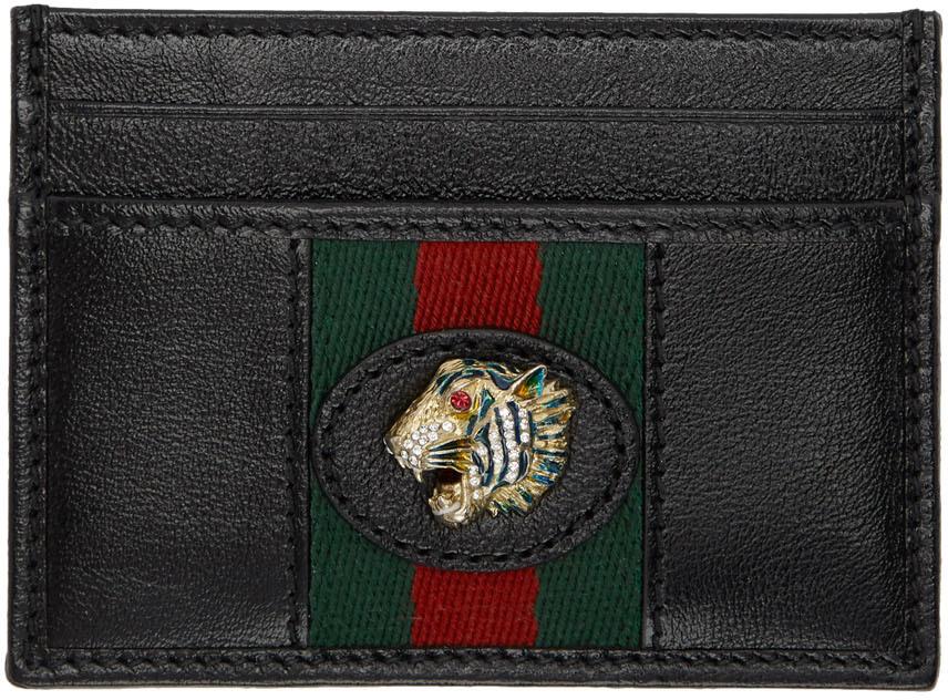Black Rajah Card Holder