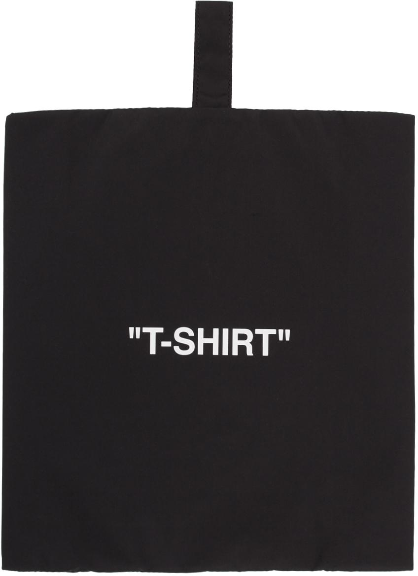Black & White 'T-Shirt' Pouch