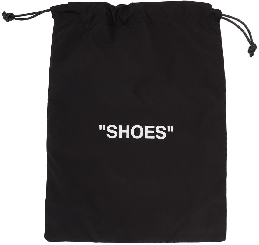 Black & White Shoes Pouch