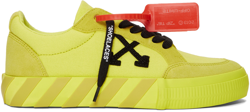 Off-White SSENSE Exclusive Yellow Low