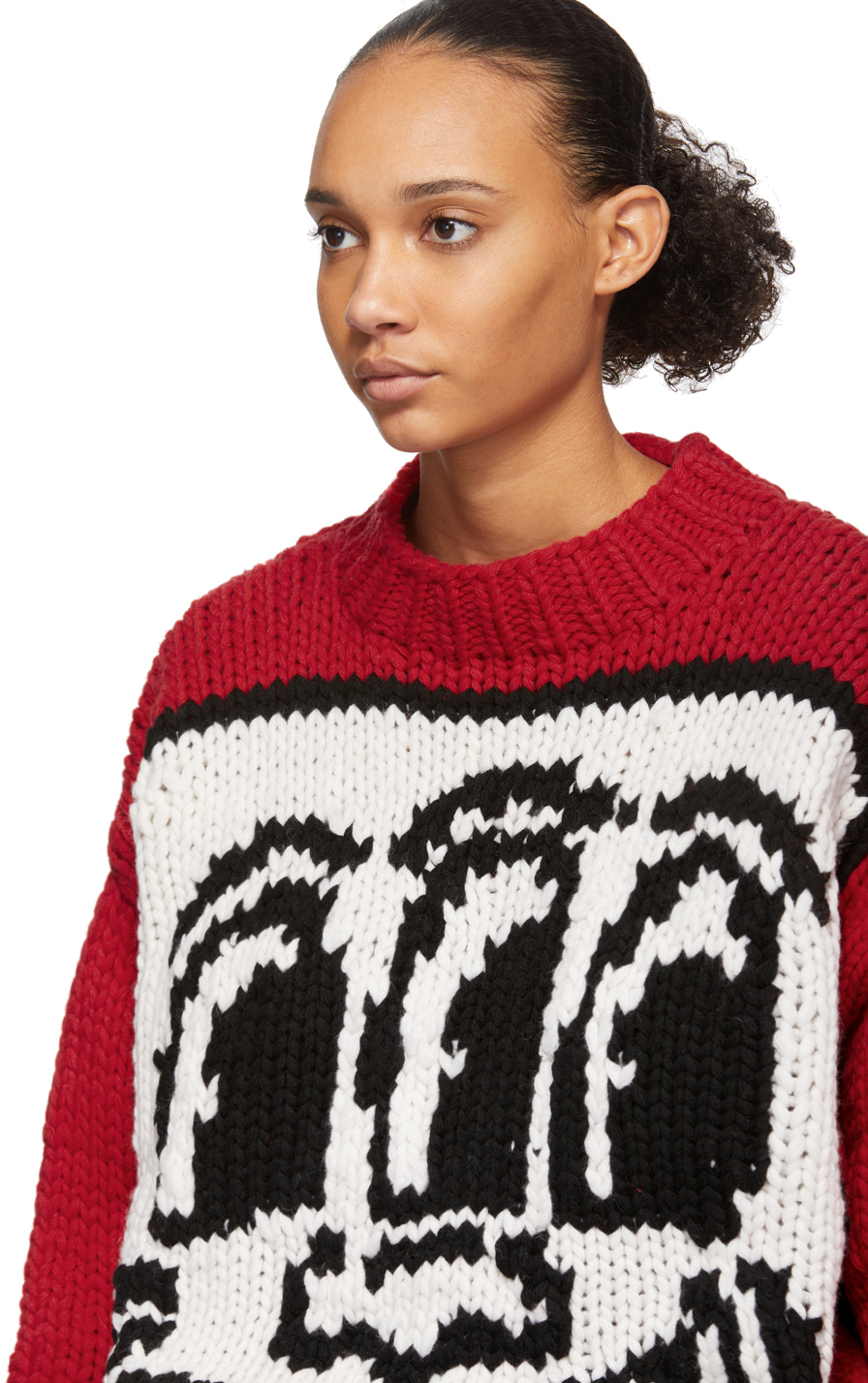 Red Keith Haring Edition Andy Sweater
