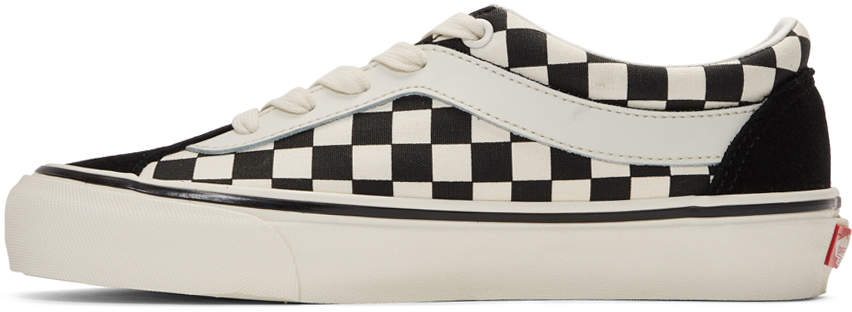 Black & White Checkerboard Bold NI Sneakers