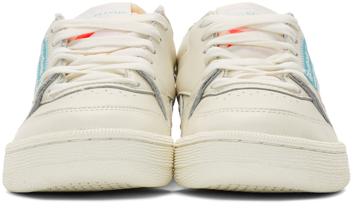 Off White & Pink Phase 1 Pro Sneakers
