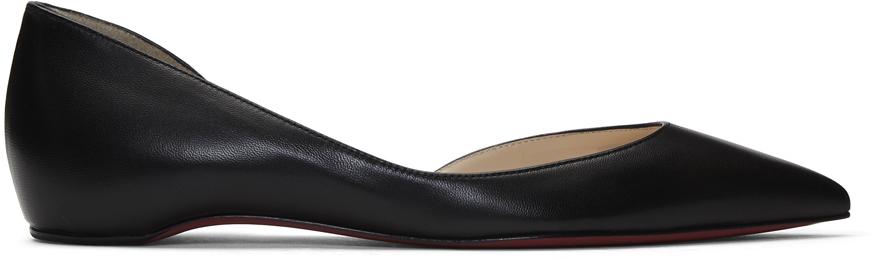 Christian Louboutin 黑色 Iriza 芭蕾平底鞋