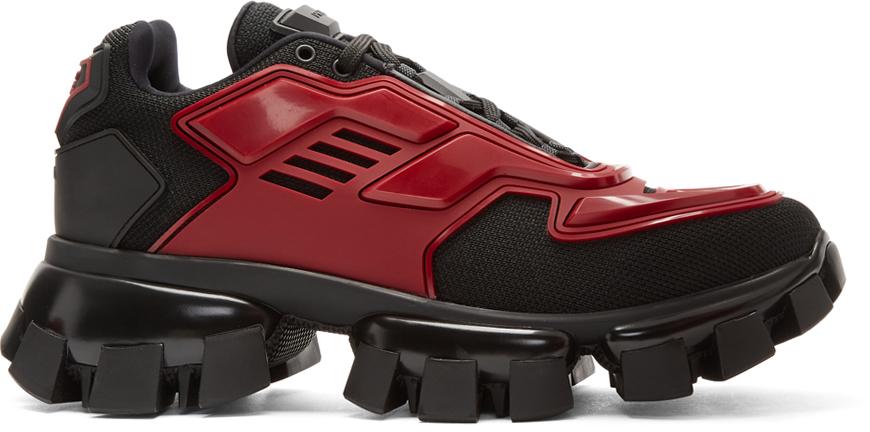 Black \u0026 Red Cloudbust Thunder Sneakers