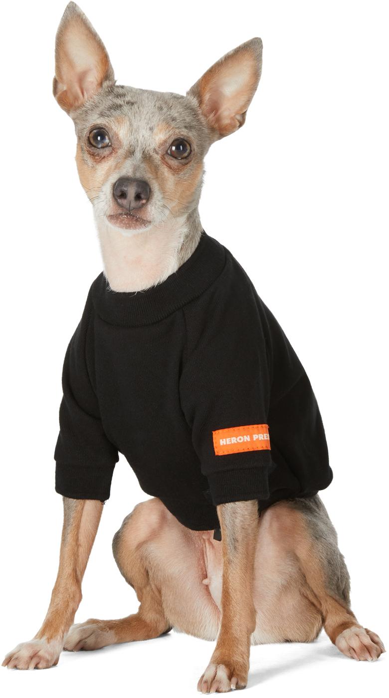 Heron Preston VIP Edition ブラック ロゴ クルーネック セーター