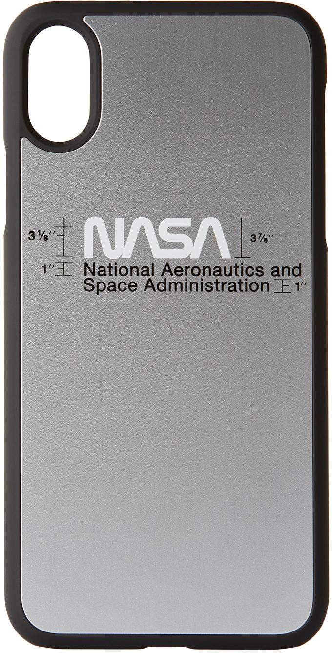 Silver Logo iPhone XS Case