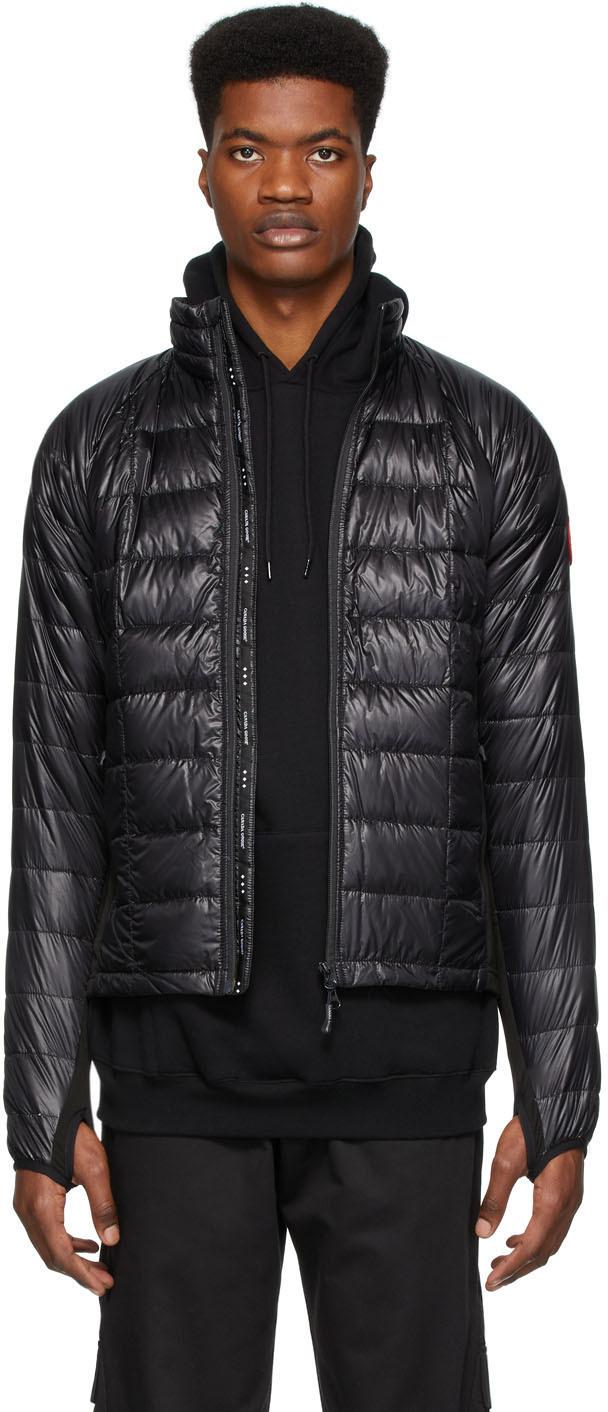 Black Down Hybridge Lite Jacket