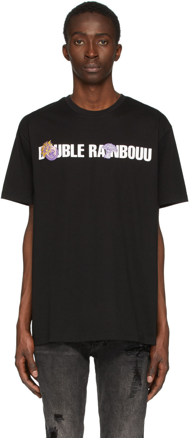 Black Logo Patch Ice T-Shirt
