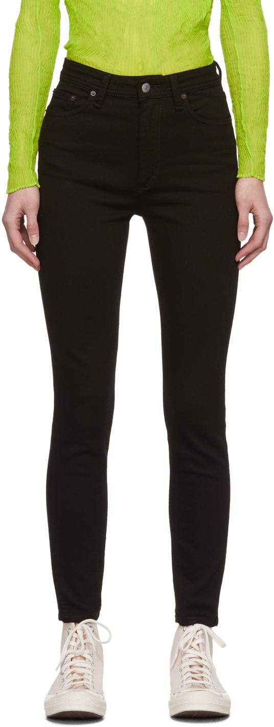 Acne Studios Black Blå Konst Peg Jeans 201129F069236