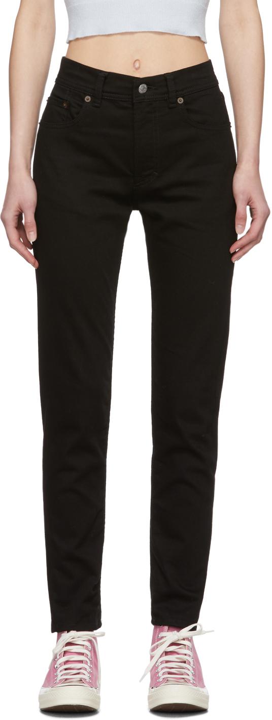 Acne Studios Black Blå Konst Melk Jeans 201129F069240