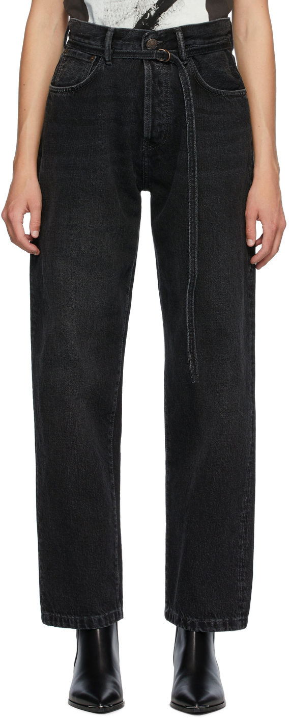 Acne Studios Black Blå Konst 1997 Toj Vintage Jeans 201129F069246
