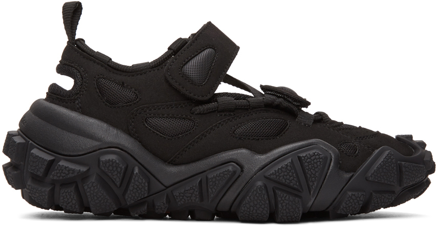 Acne Studios Black Bolzter Bryz Sneakers 201129F128024