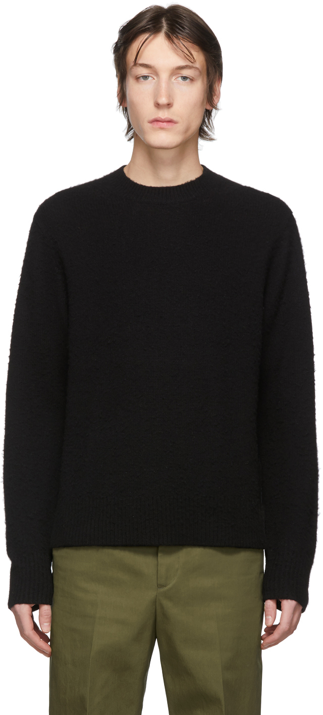 Acne Studios Black Peele Sweater 201129M201032