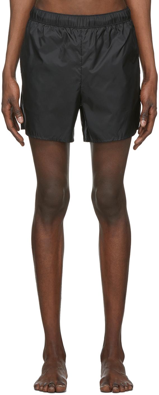 Acne Studios Black Nylon Swim Shorts 201129M208241