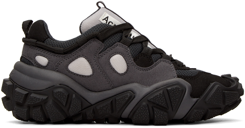 Acne Studios Black Bolzter Sneakers 201129M237081