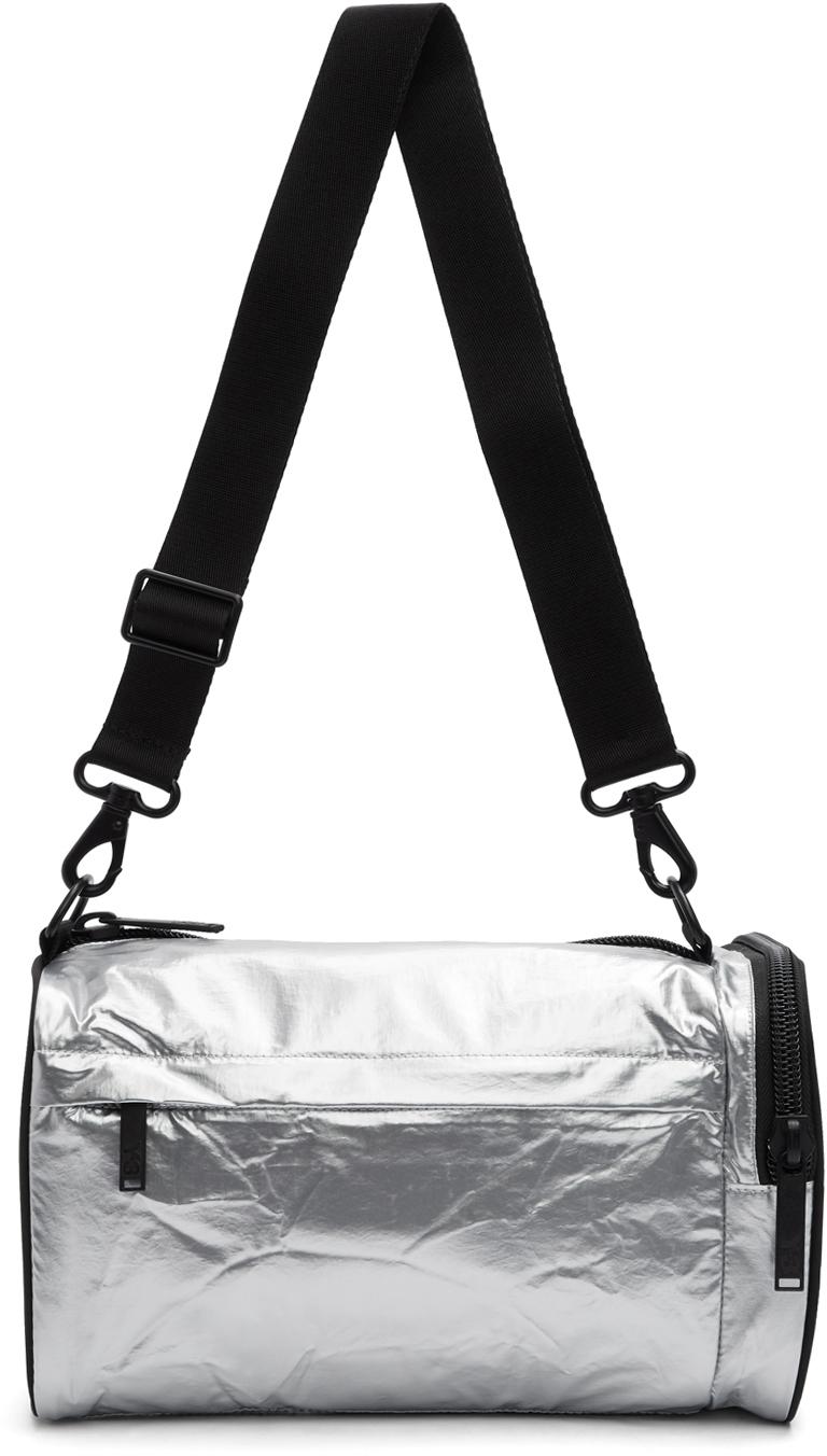 Silver Mini Gym Bag