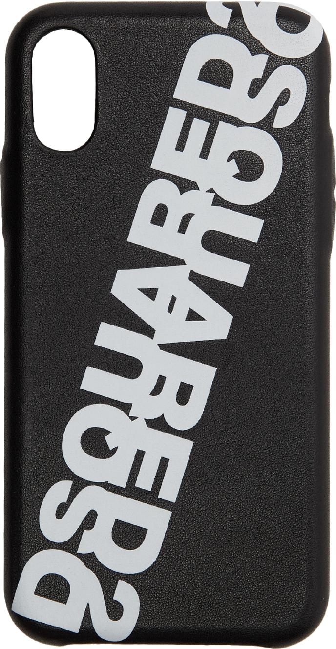 Black Ecopelle iPhone XS Case