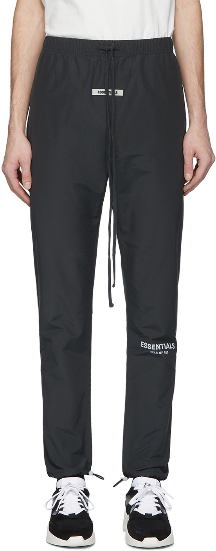 Black Canvas Lounge Pants