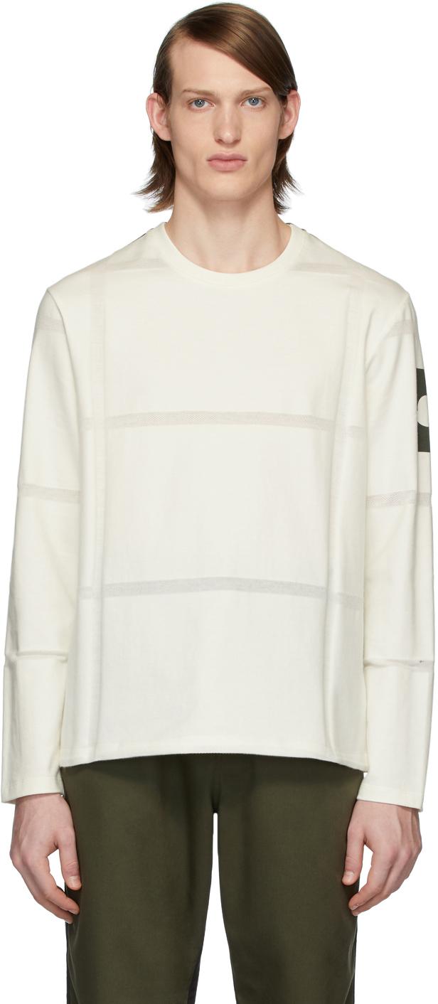 5 Moncler Craig Green White Maglia Long Sleeve T-Shirt