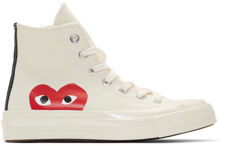 comme des garçons chaussures converse femme