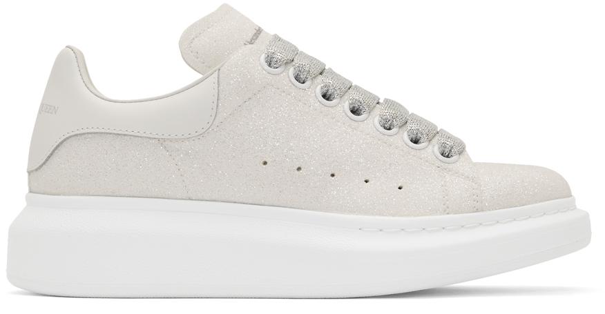 Alexander McQueen: Off-White Glitter