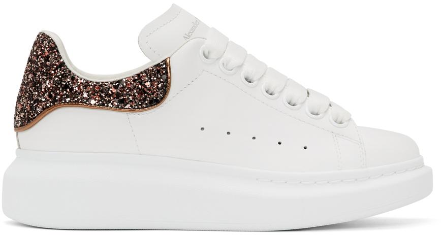 SSENSE Exclusive White \u0026 Pink Glitter