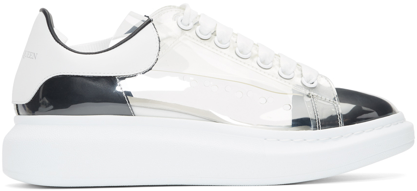 White Plexi Larry Sneakers by Alexander