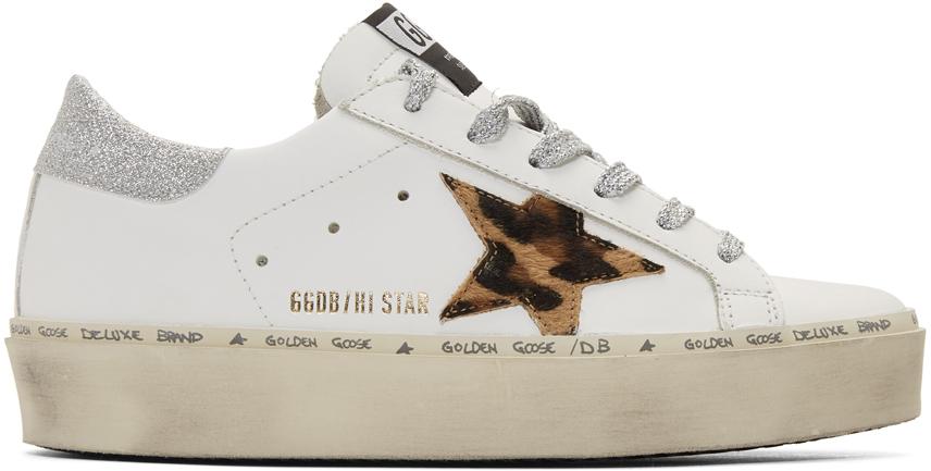 cheetah golden goose sneakers