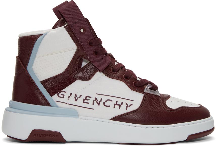 Givenchy: Burgundy \u0026 White Wing