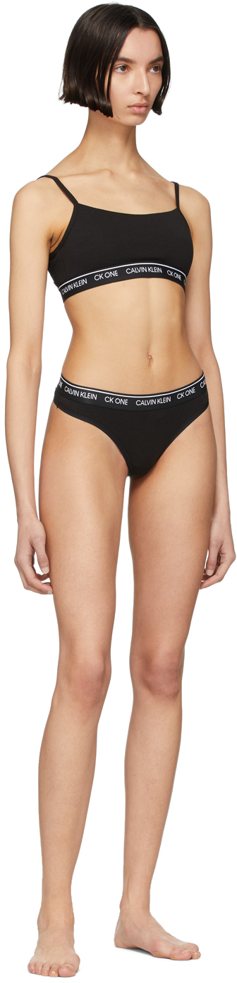 Calvin Klein CK One Thong Black
