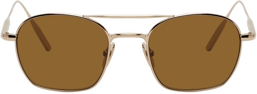 Gold 'The Engineer' Sunglasses