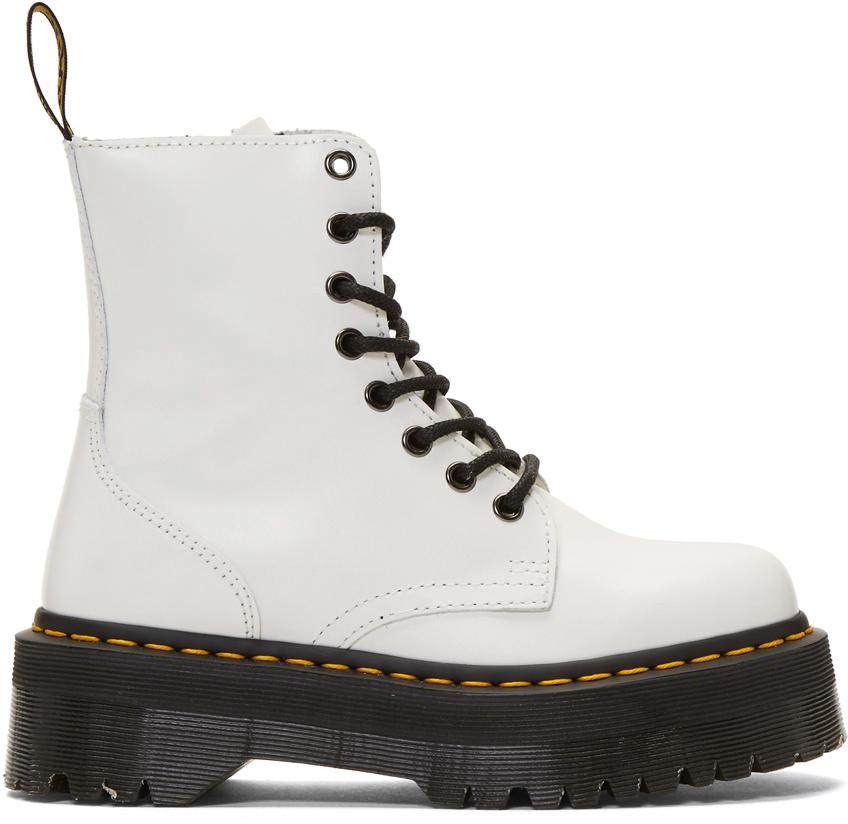 white jadon boots dr martens