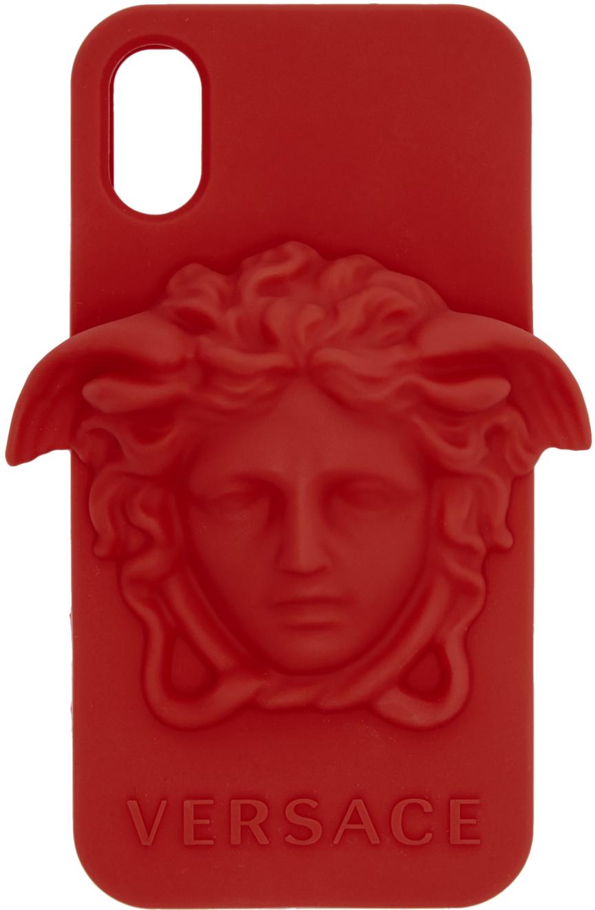 Red Medusa iPhone X Case