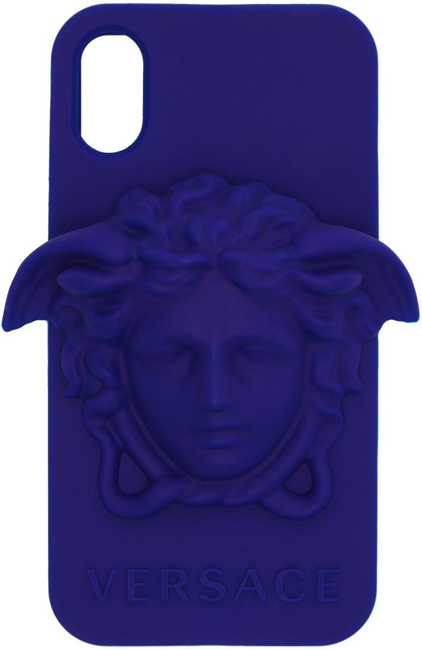 Blue Medusa iPhone X Case