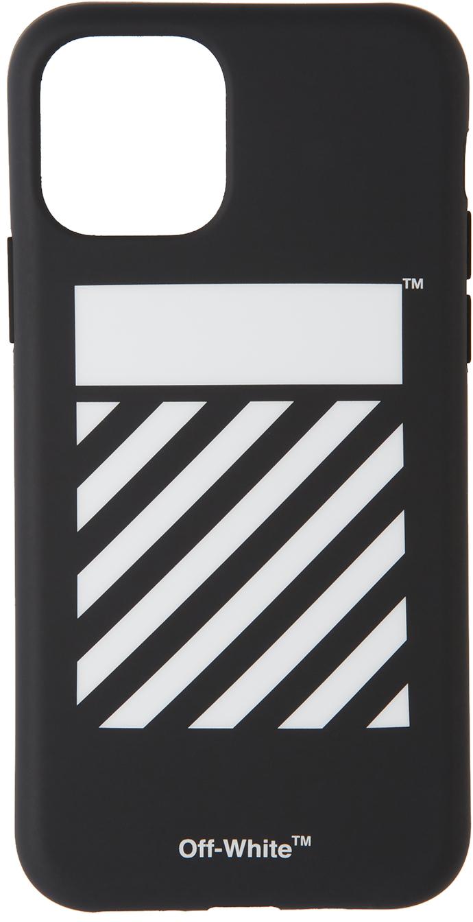 Black Diagonal iPhone 11 Pro Case