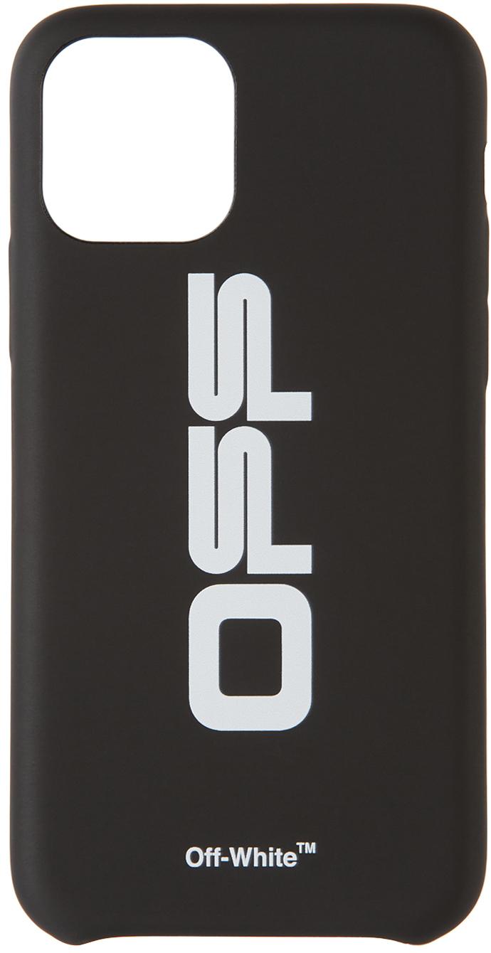 Black & White Wavy Logo iPhone 11 Pro Case