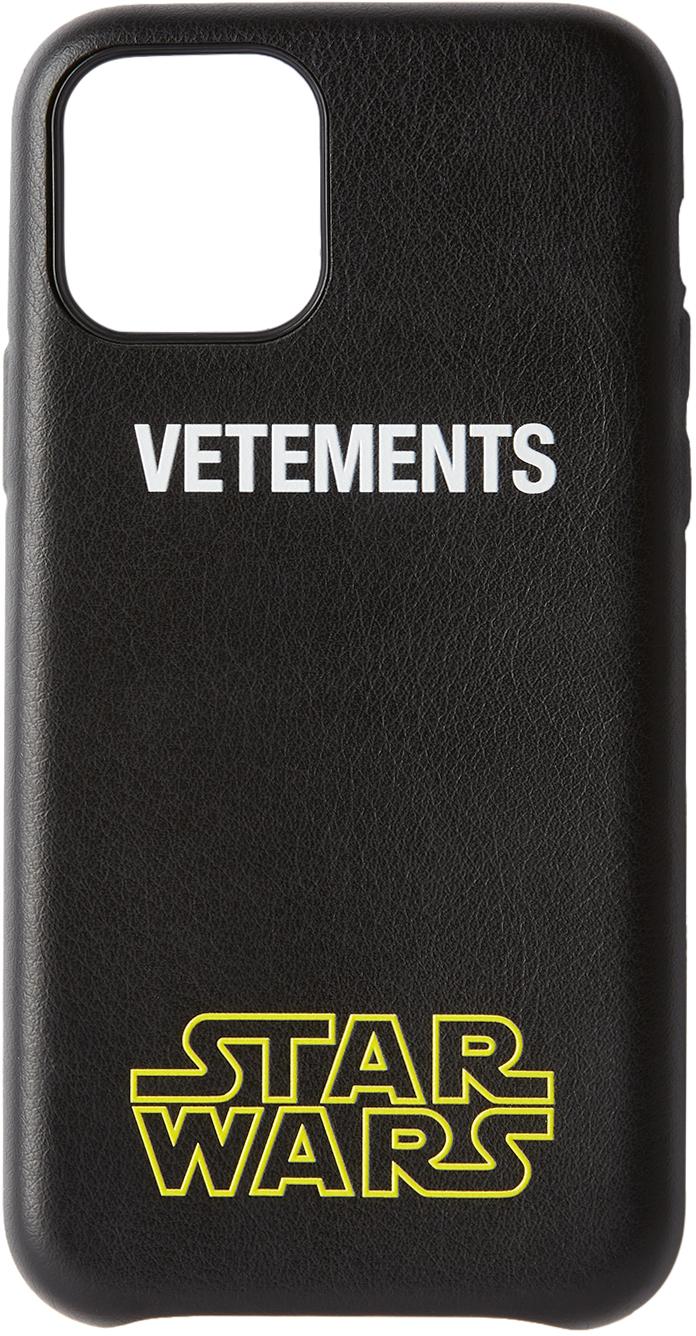 Black STAR WARS Edition Logo iPhone 11 Pro Case