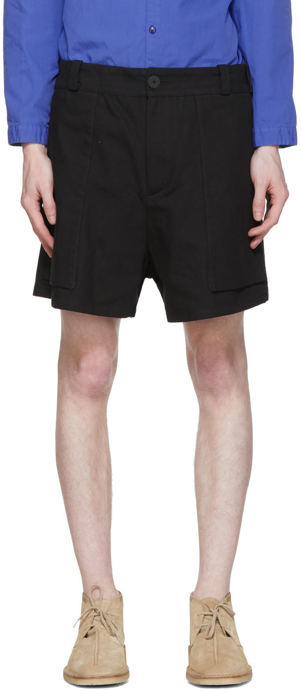 Toogood 黑色 The Bricklayer 短裤