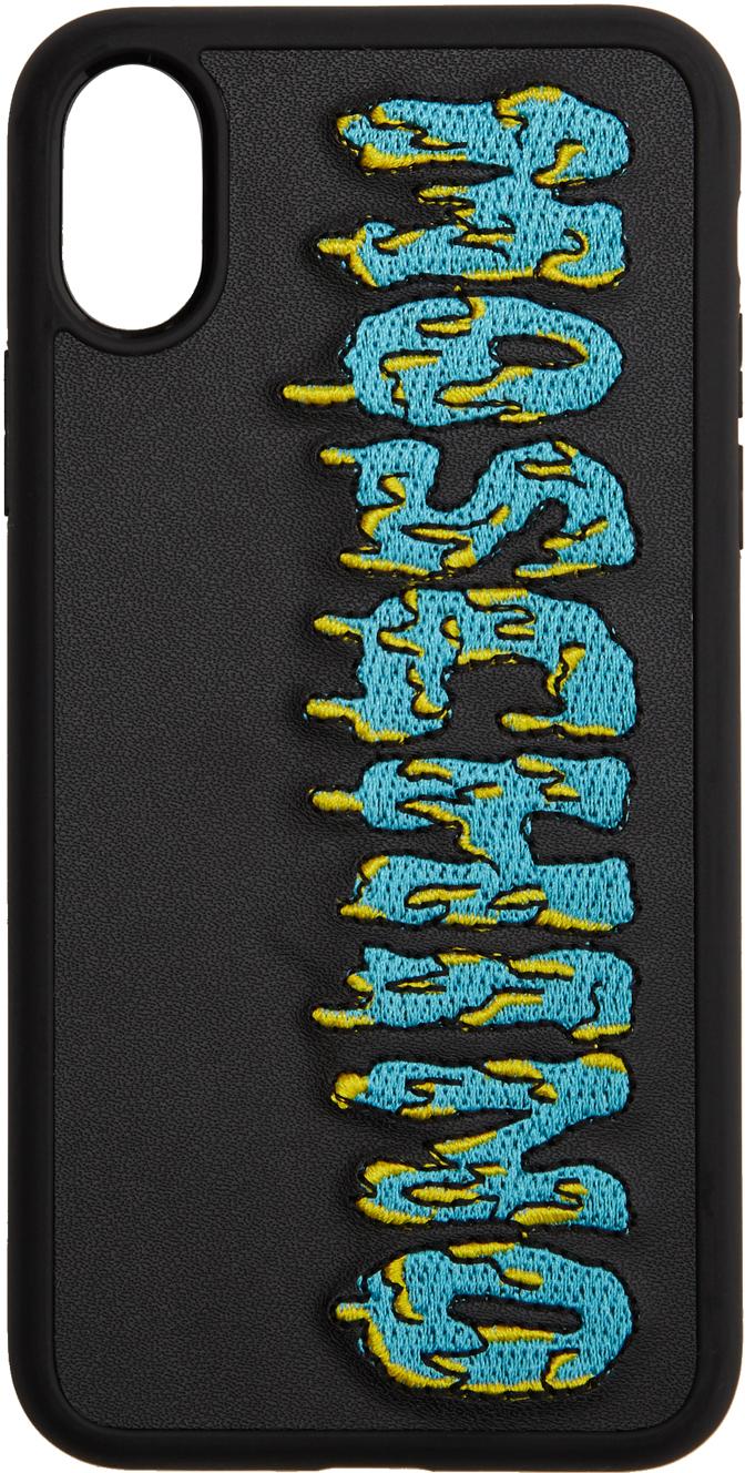Black Monster Logo iPhone X/XS Case