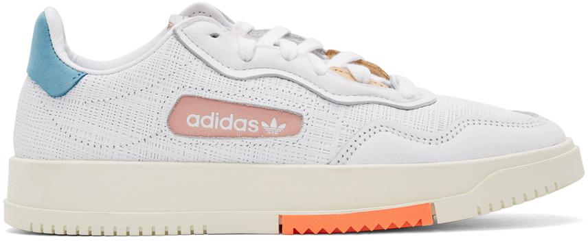 adidas Originals 白色 SC Premiere 运动鞋