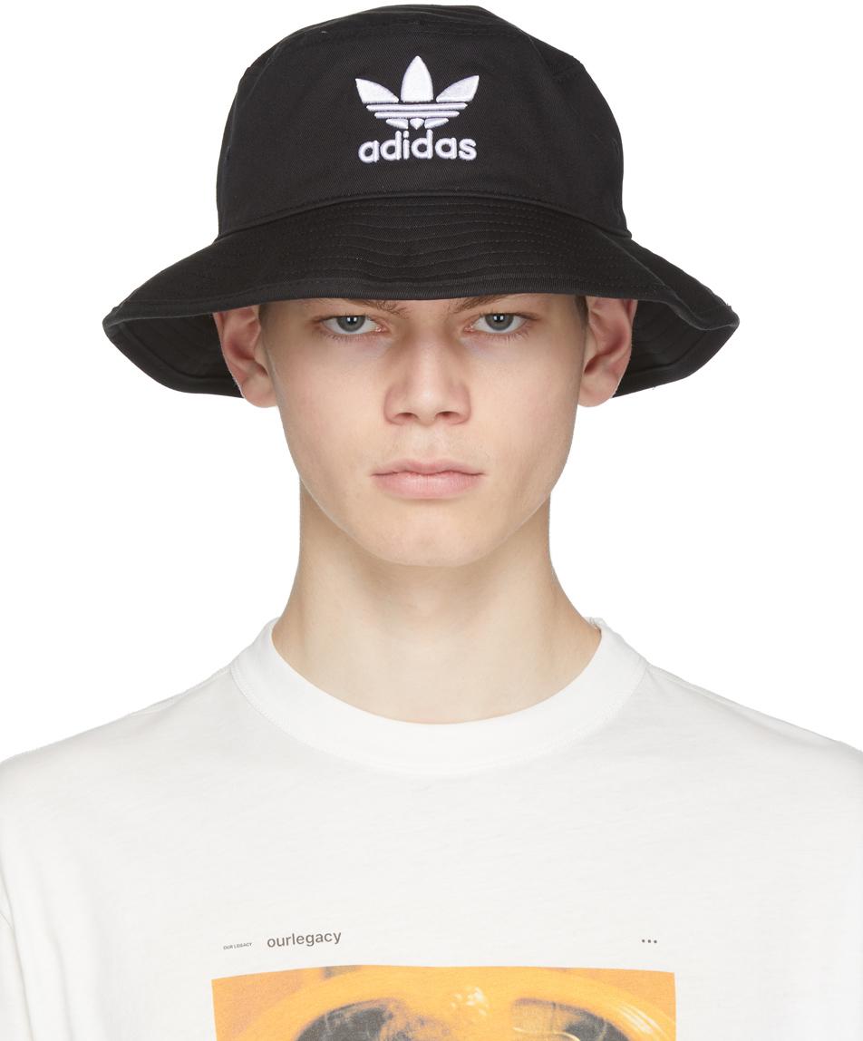 Black Adicolor Bucket Hat