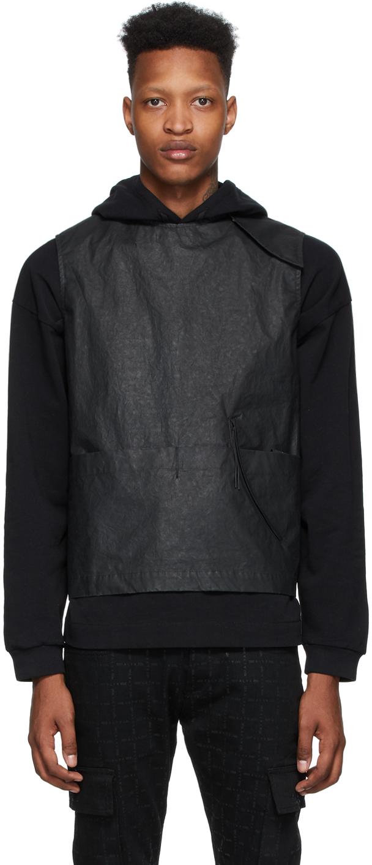1017 ALYX 9SM Black Cotton Crisp Vest 201776M185059
