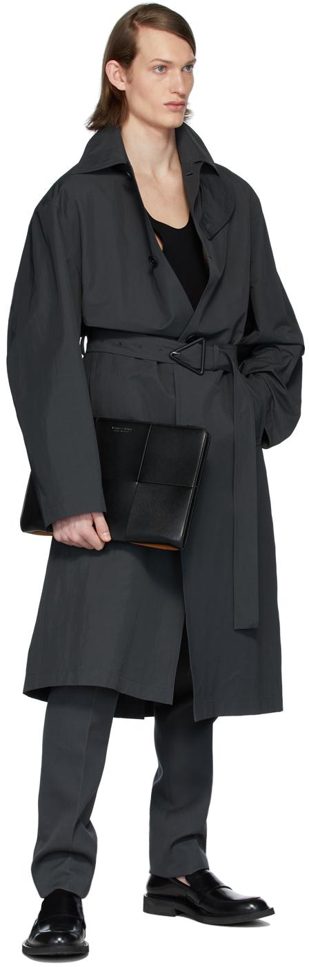 ナイロン トレンチ コート