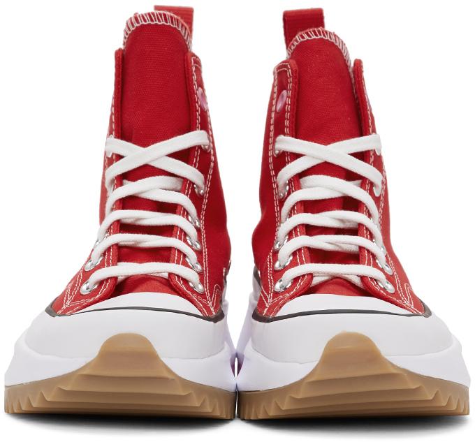 Run Run Sneakers Red Star Hike Red Hike Sneakers Red Star