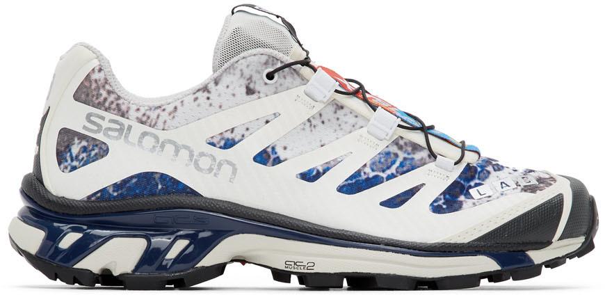 Baskets blanches et bleues XT 4 ADV édition limitée