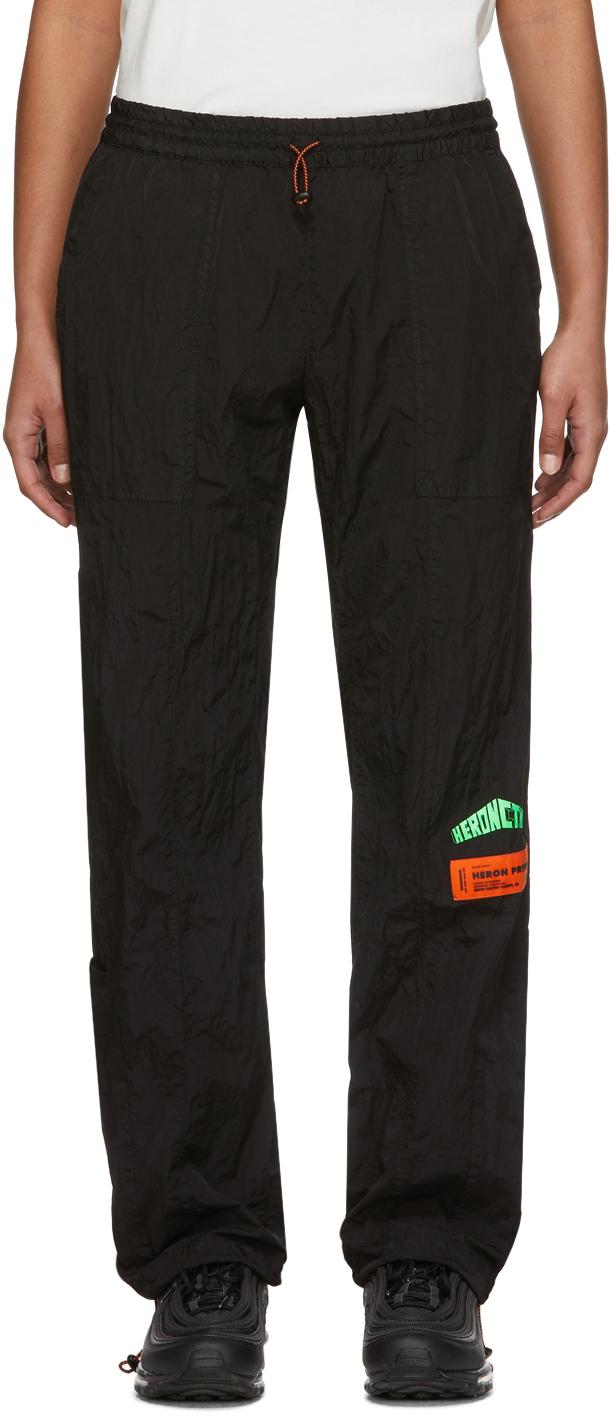 Black Taffeta Lounge Pants