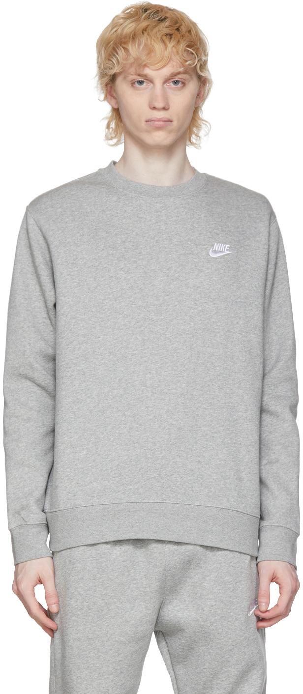 Grey Sportswear Club Sweatshirt